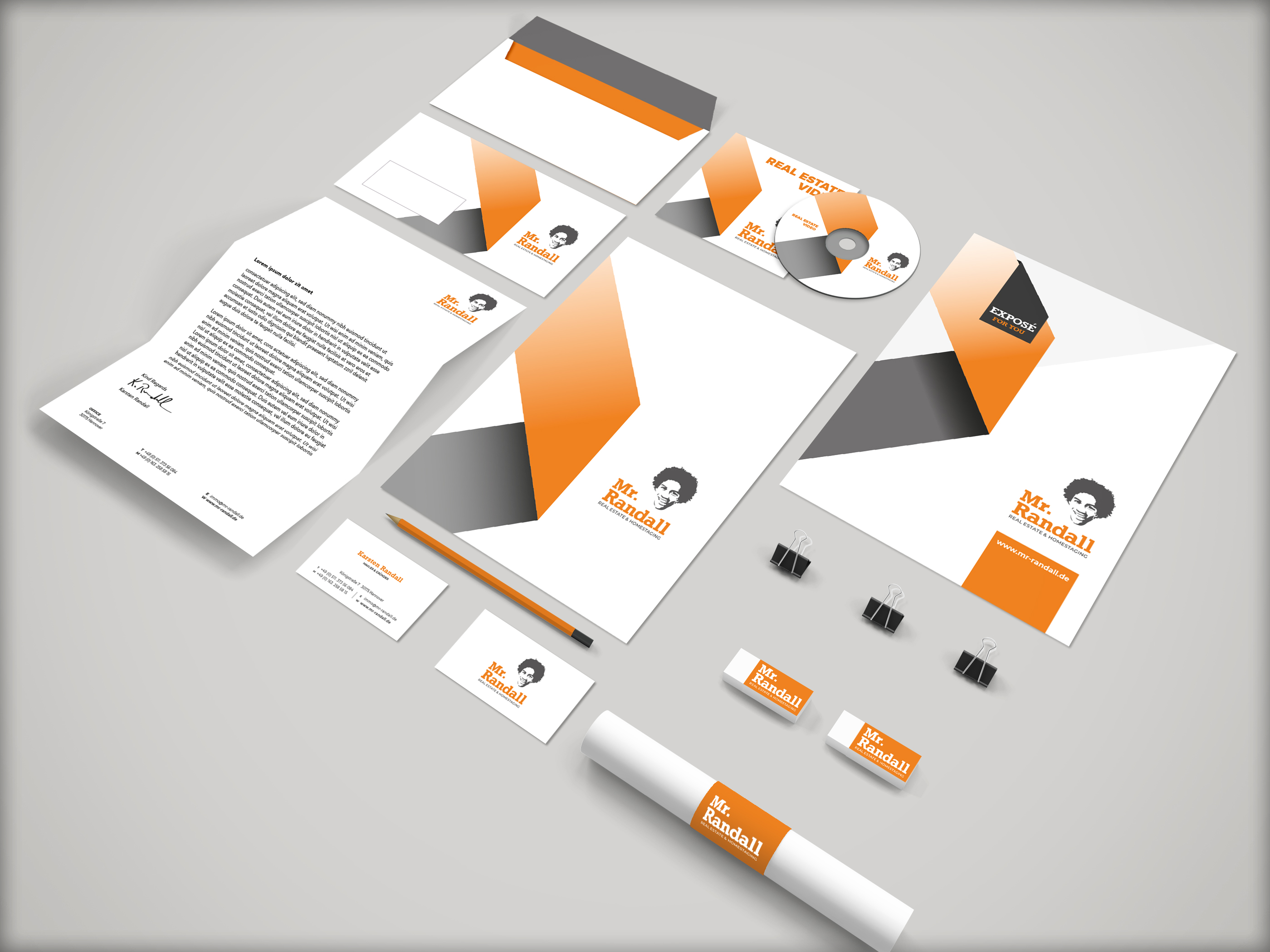 Corporate Design Mr.Randall Hannover